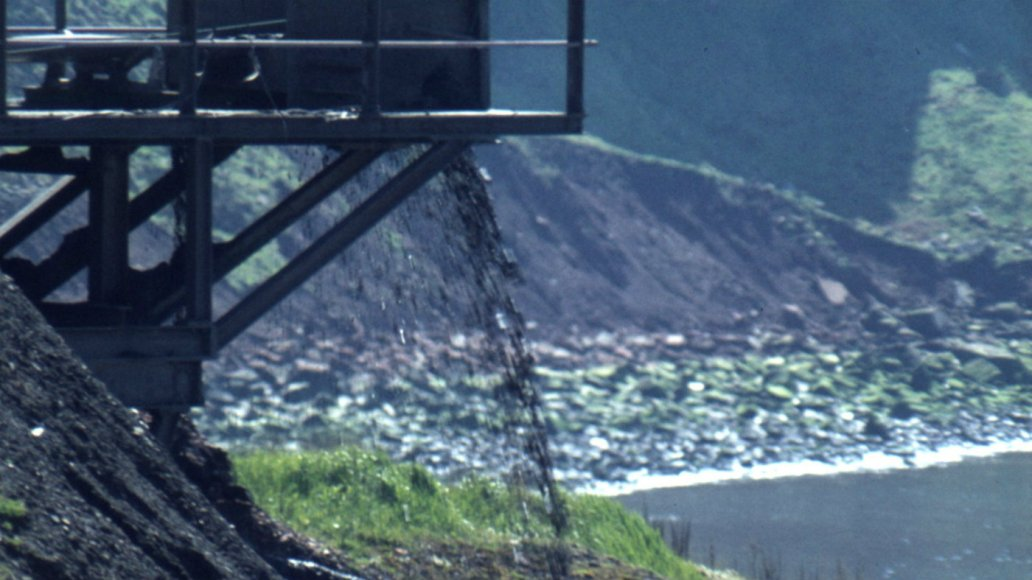 Coal mining, 1979, Whitehaven, Cumbria