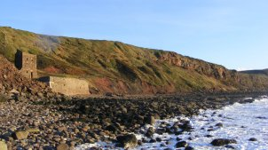 Saltom Pit beneath the cliffs, Whitehaven